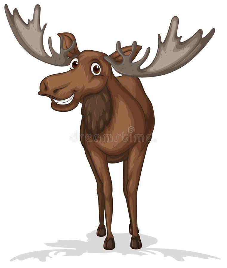 moose ilustracja wektor