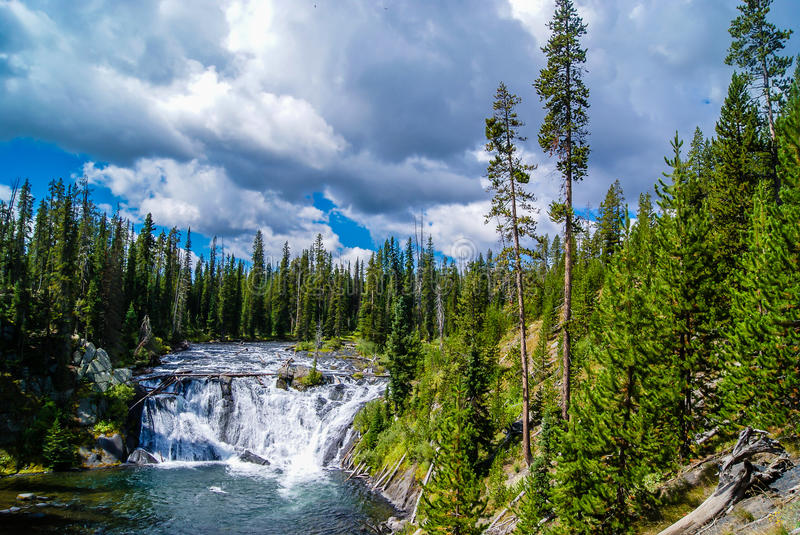 Moose Falls royalty free stock photos