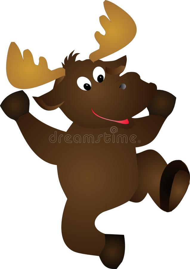 Download Moose illustration stock vector. Illustration of clipart - 11700233