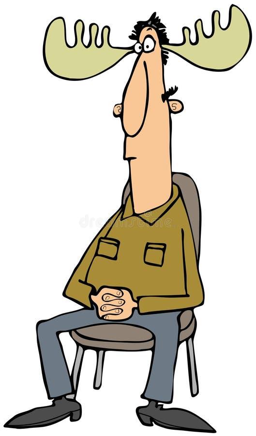 Download Moose man stock illustration. Illustration of moose, male - 36499428