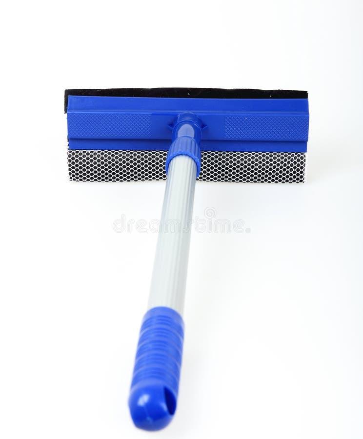 Mop per le finestre di pulizia fotografia stock