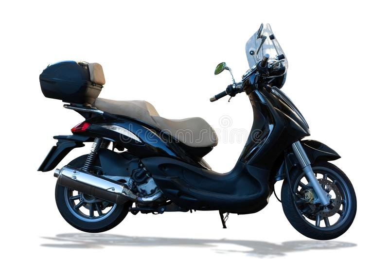 Moped - scooter stock images
