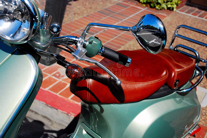 Moped Scooter royalty free stock images