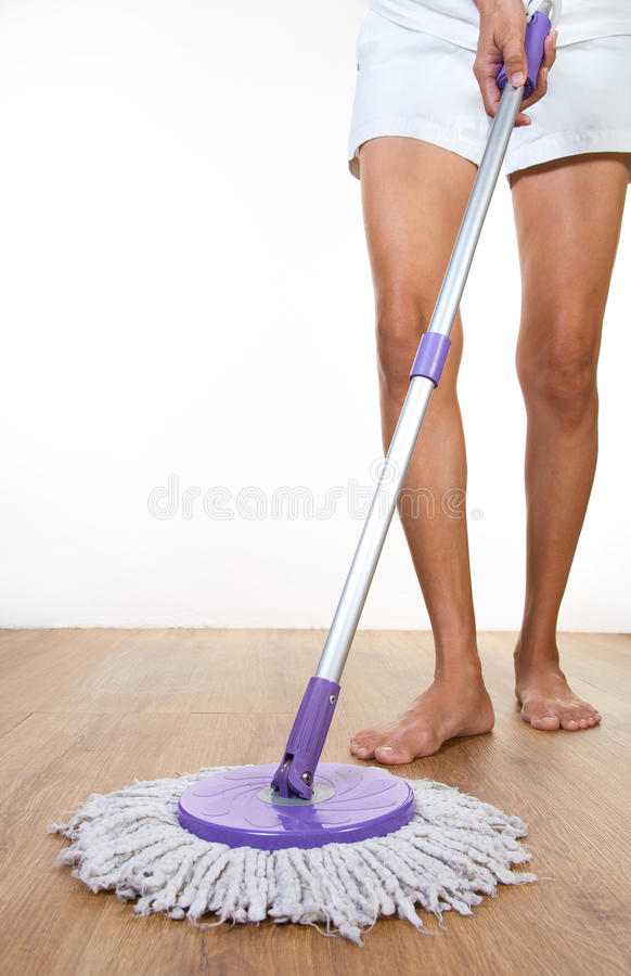 Download Mopping stock image. Image of mopping, housekeeping, work - 22275863