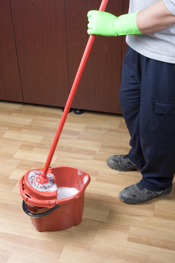 Download Mopping stock image. Image of legs, floor, housewife - 22864805