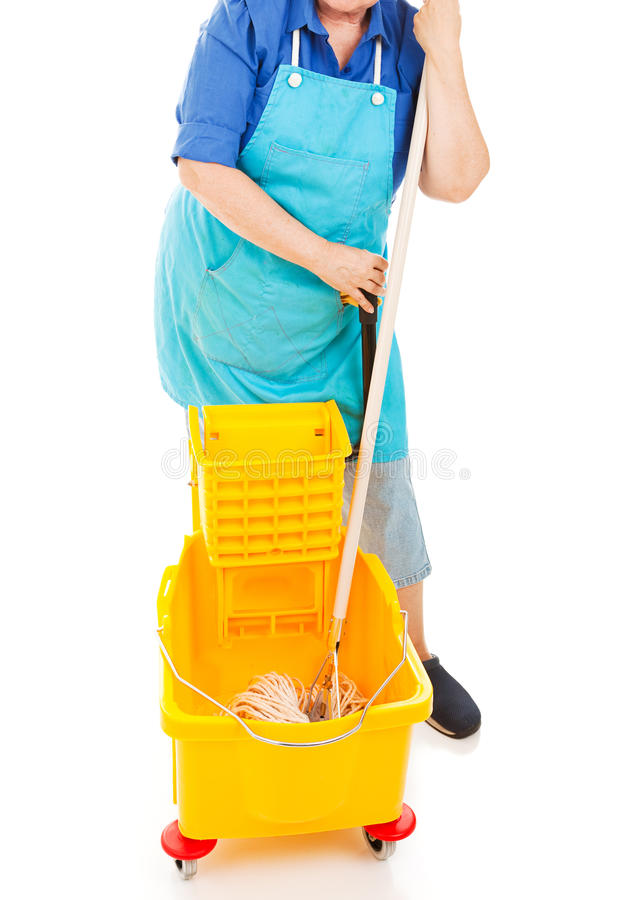Mopping Up Stock Photos
