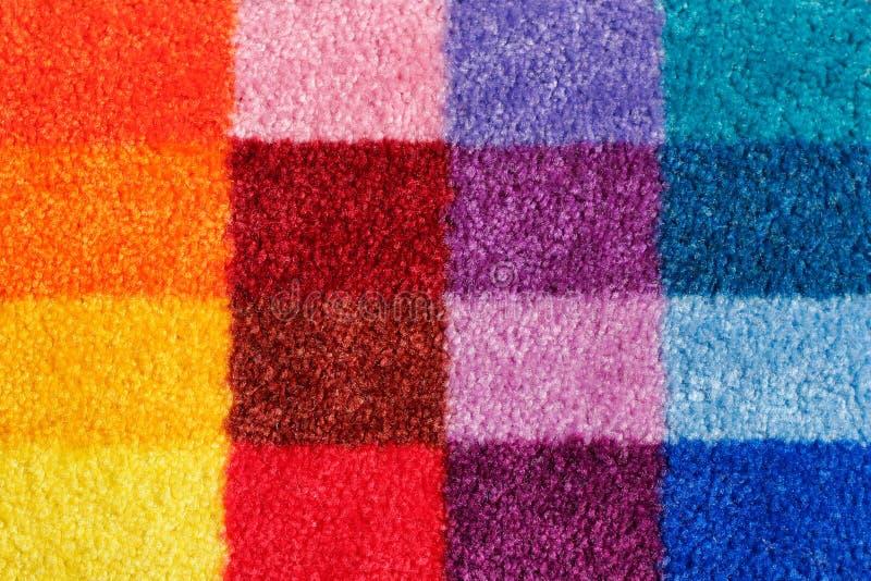 Moquette colorata immagine stock