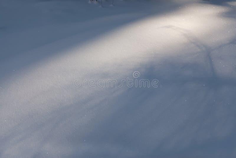Moquette della neve immagini stock