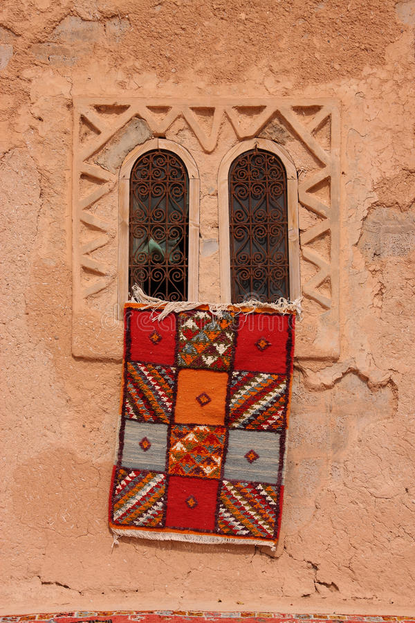 Moquette di Berber del Marocco fotografie stock