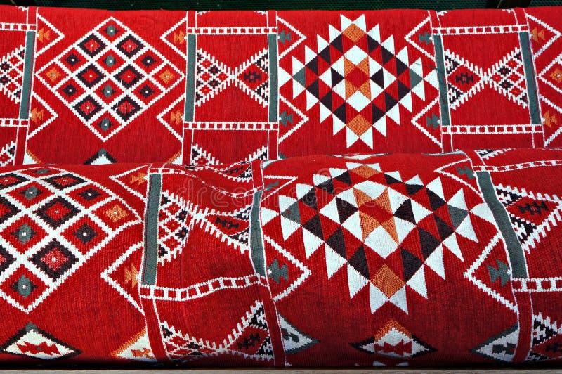 Moquette turque traditionnelle Modèle géométrique ornemental photo libre de droits