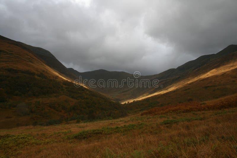 MOR de Eilde del lago, Kinlochleven, Escocia fotos de archivo libres de regalías