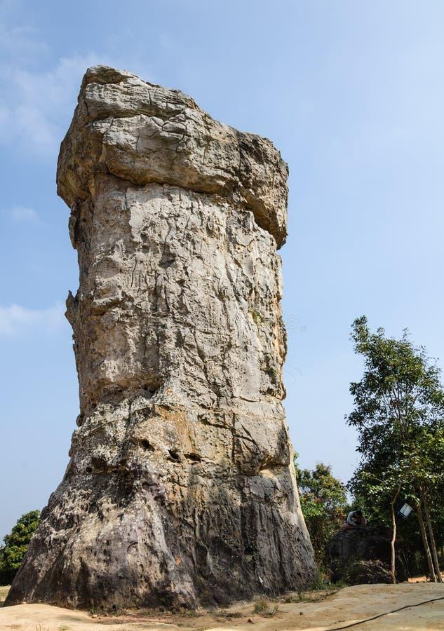 Mor Hin Khao, Chaiyaphum, Tailândia foto de stock royalty free