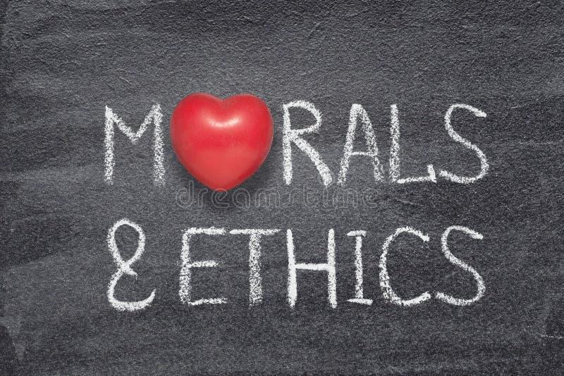 Morały i etyki kierowi ilustracji