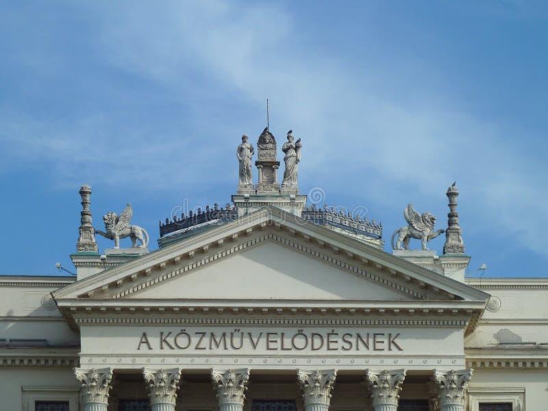 Mora费伦茨博物馆,塞格德, Csongrad县,匈牙利 库存照片