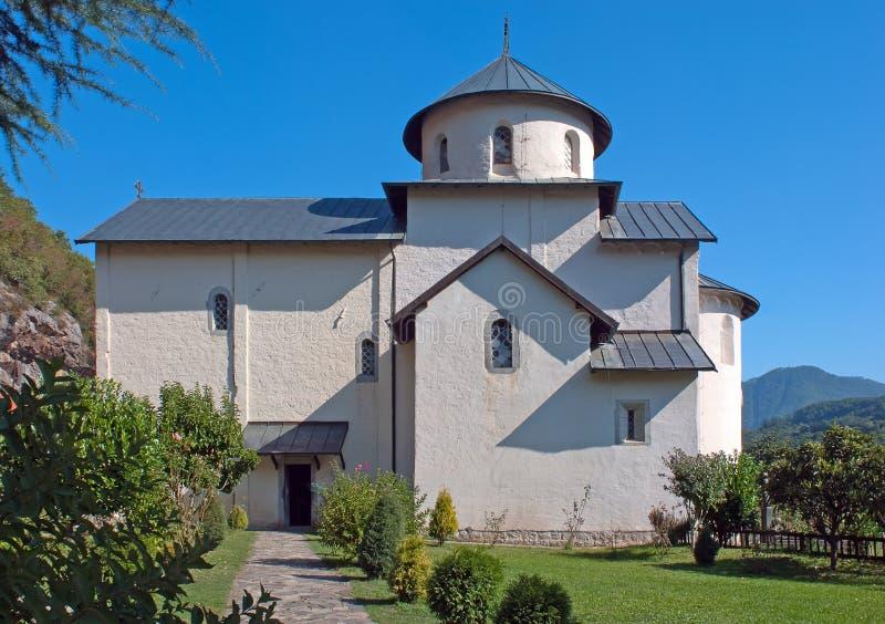 moraca του Μαυροβουνίου μοναστηριών στοκ φωτογραφίες με δικαίωμα ελεύθερης χρήσης