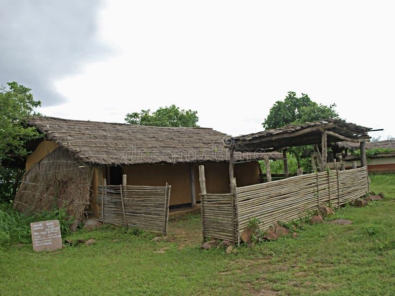 A moradia de Kamar Tribal imagem de stock royalty free