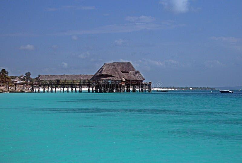 Moradia de Zanzibar foto de stock