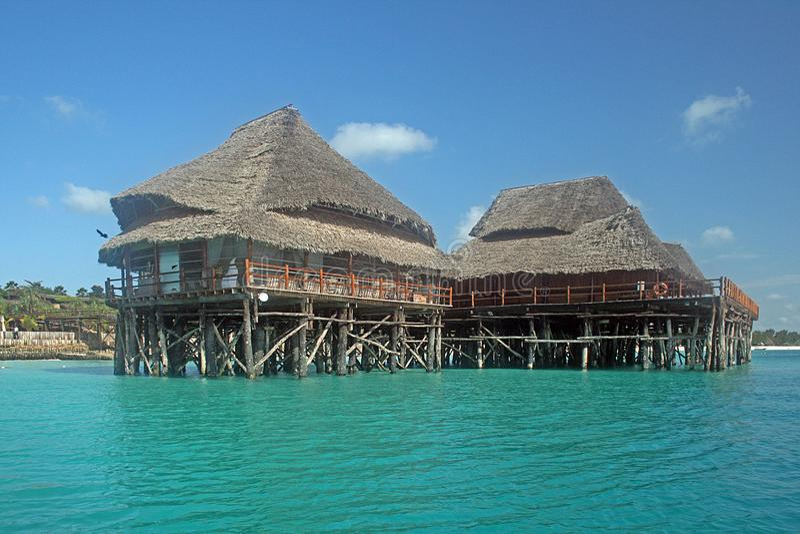 Moradia de Zanzibar fotos de stock royalty free