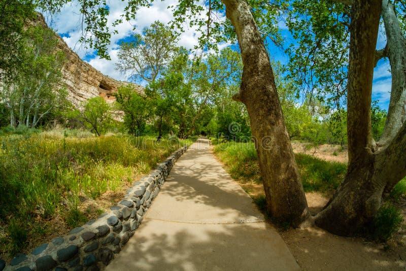 Moradia do castelo de Montezuma fotografia de stock