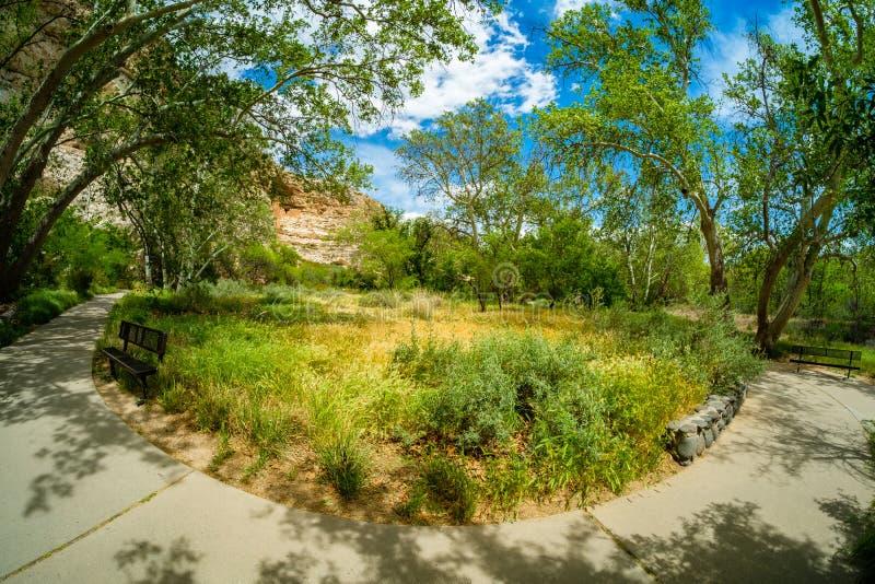 Moradia do castelo de Montezuma fotografia de stock royalty free