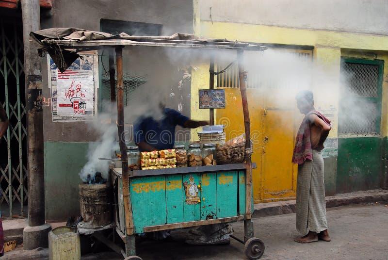 Moradores do precário de Kolkata-India foto de stock royalty free