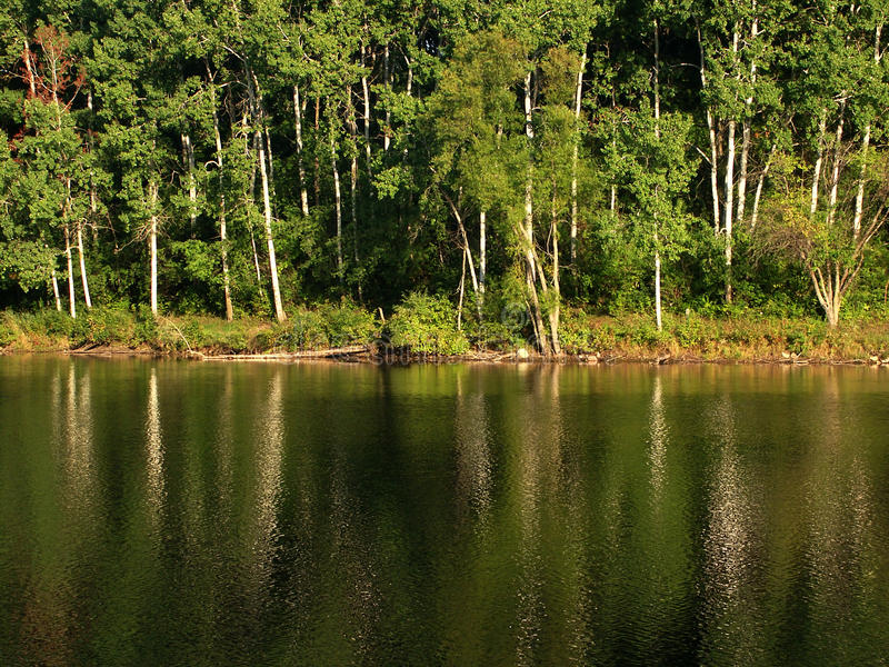 Moraine de la caldera - Wisconsin foto de archivo libre de regalías