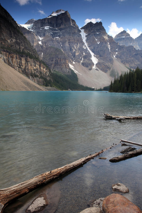 Download Moraine Lake stock image. Image of mountains, scenic - 16698175