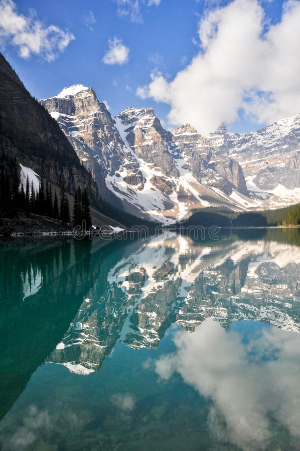 Download Moraine Lake, Rocky Mountains, Canada Stock Photo - Image: 24473488