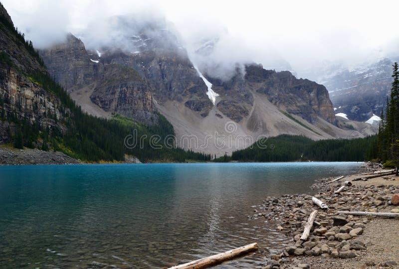 Moraine See (8) lizenzfreies stockbild