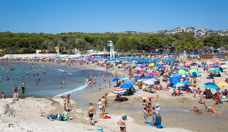 Download Moraira Beach Editorial Photography Image Of Landscape