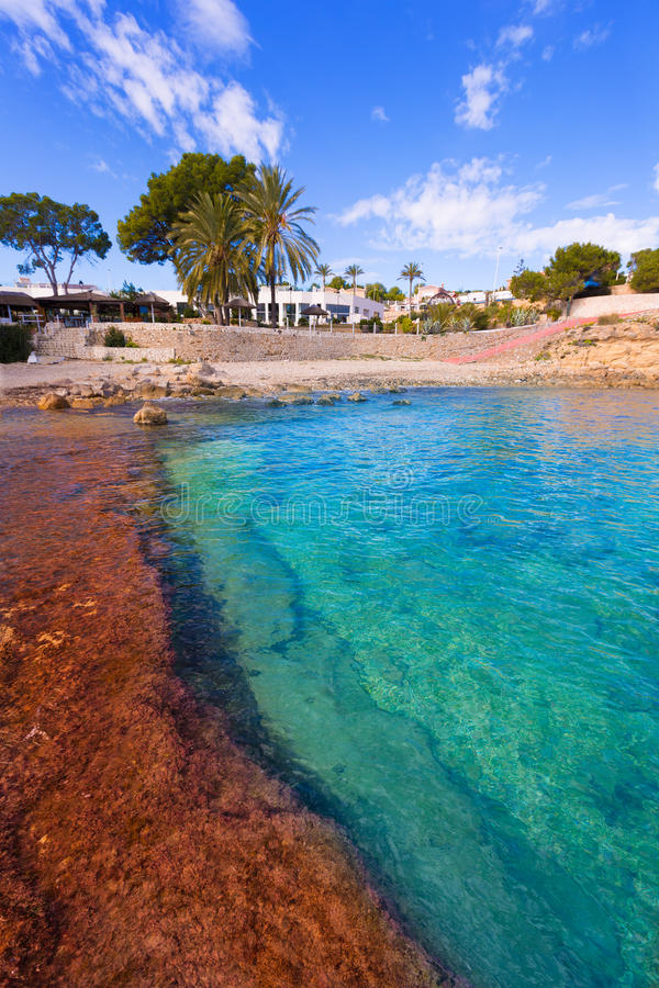 Free Moraira Cala Andrago Beach In Teulada Alicante Royalty Free Stock Photo - 38585795