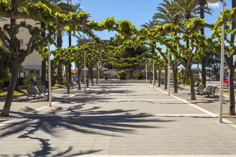 Moraira en Espagne photographie stock libre de droits