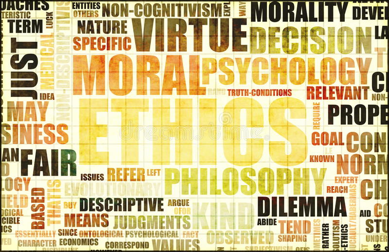 Moral Ethics royalty free illustration