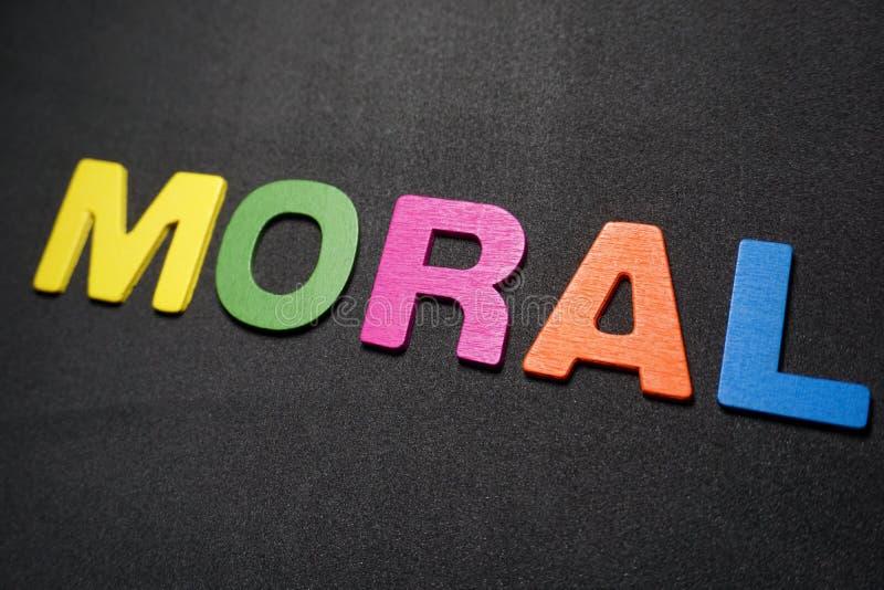 moral imagem de stock