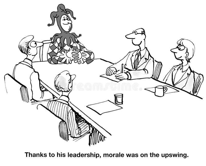 Moral verbessert stock abbildung