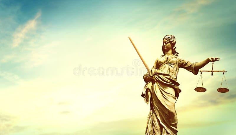 Moralisches Justizwesen Dame Justice stockfotografie