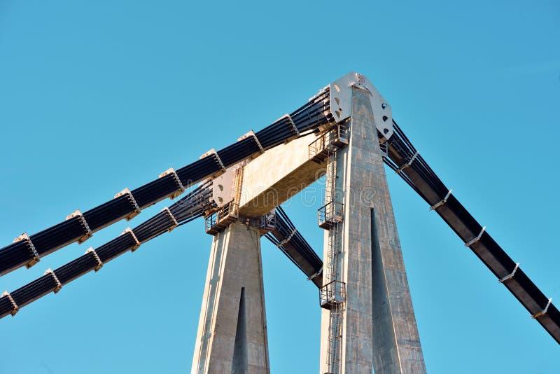 Morandi bro Genoa Italy fotografering för bildbyråer