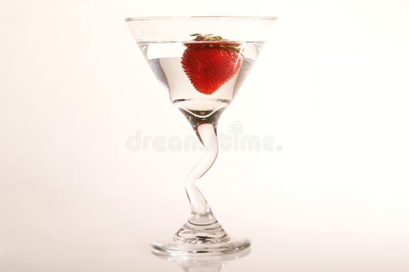 Morango Martini fotos de stock