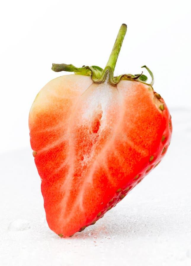 Morango vermelha imagem de stock royalty free