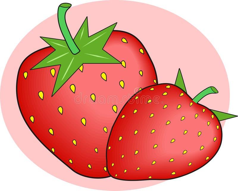 Download Morangos ilustração do vetor. Ilustração de seasonal, fruta - 53734