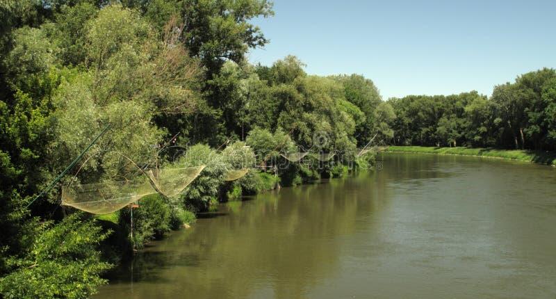Morava river royalty free stock photography