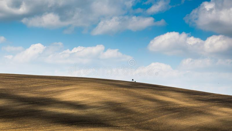 Moravian Тоскана Kyjov стоковое изображение