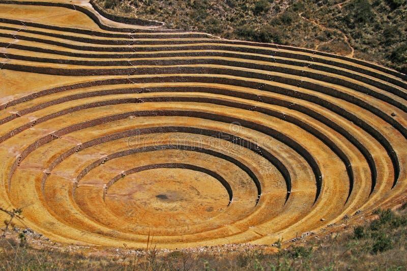 Moray, Cusco, Pérou photographie stock
