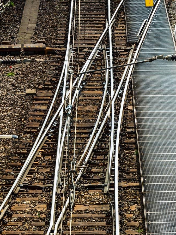 Morbido una ferrovia immagini stock libere da diritti