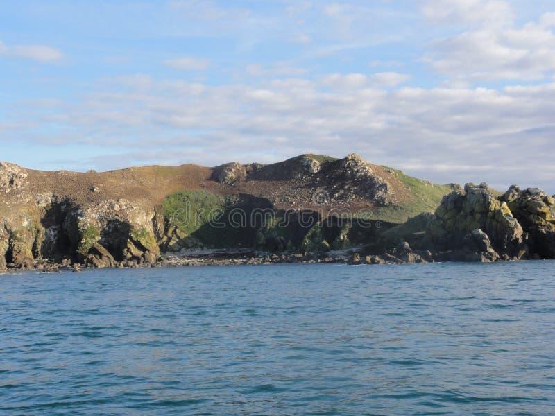Morbihan - o Ile Oiseaux auxiliar foto de stock