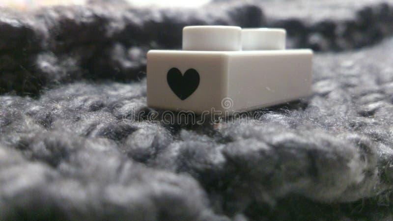 Morceau d'amour photo stock
