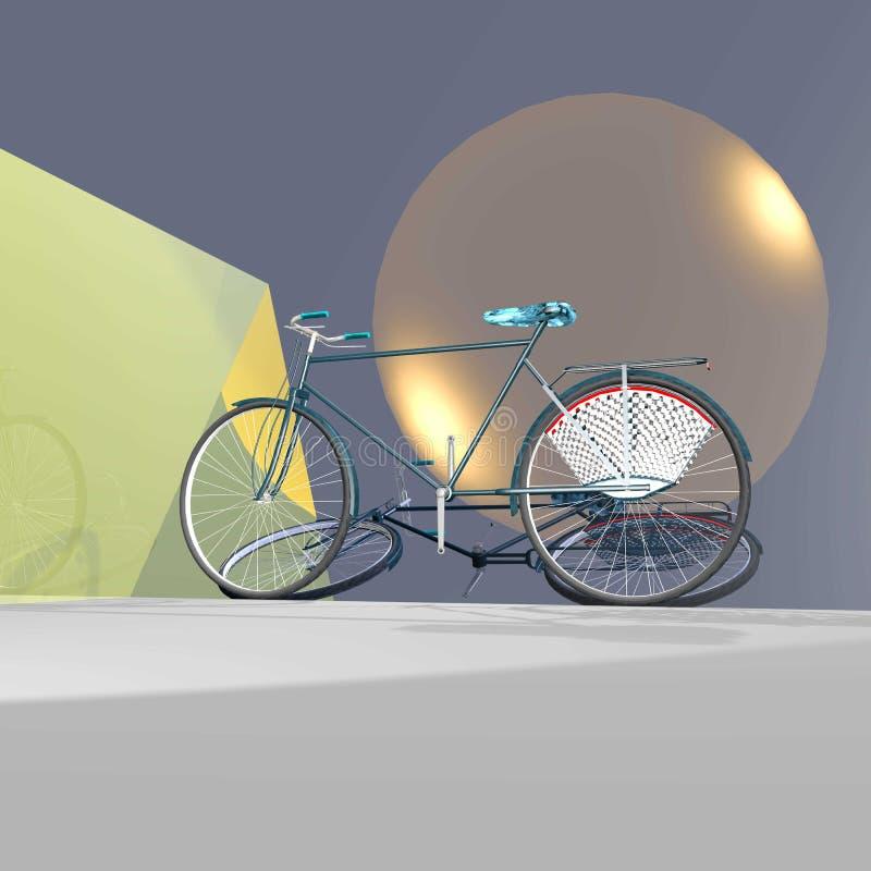 Morceau d'exposition de cycle photo stock