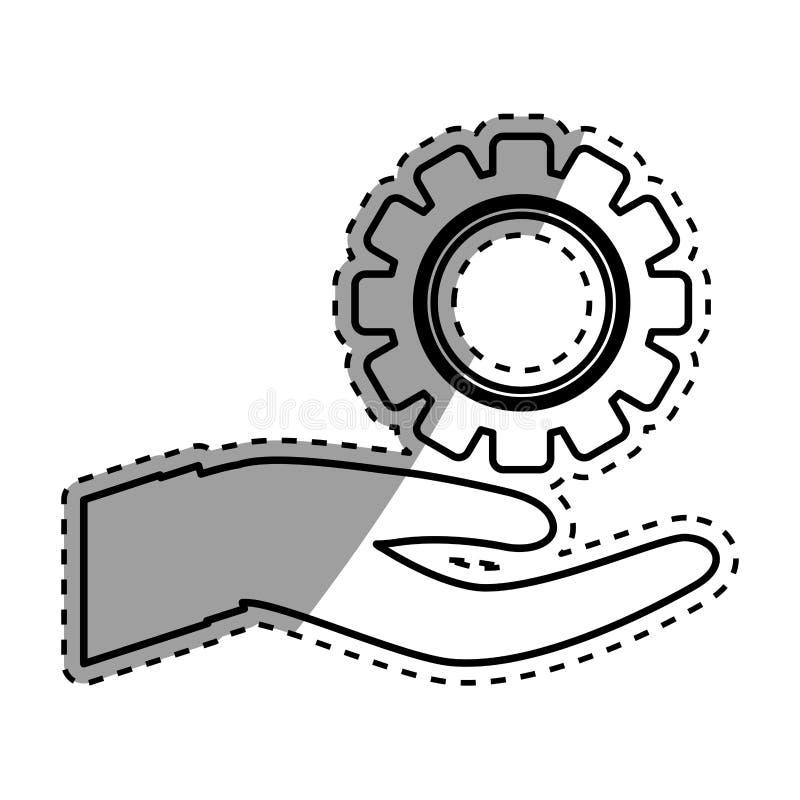 Download Morceau D'isolement De Vitesse Illustration Stock - Illustration du machine, illustration: 87703835