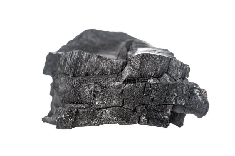 Morceau de charbon photographie stock libre de droits