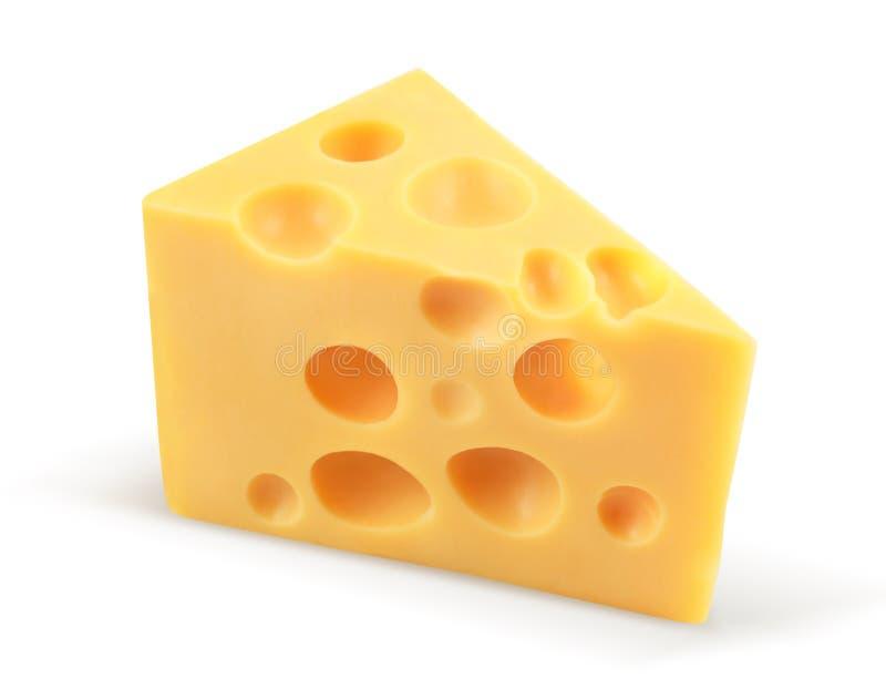 Morceau de fromage image libre de droits